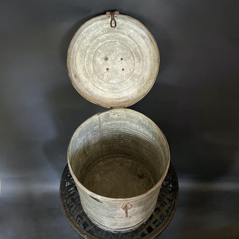 vaso coperchio zinco riso