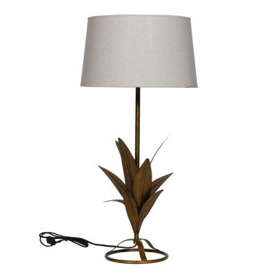 lampada appoggio foglie Abaca