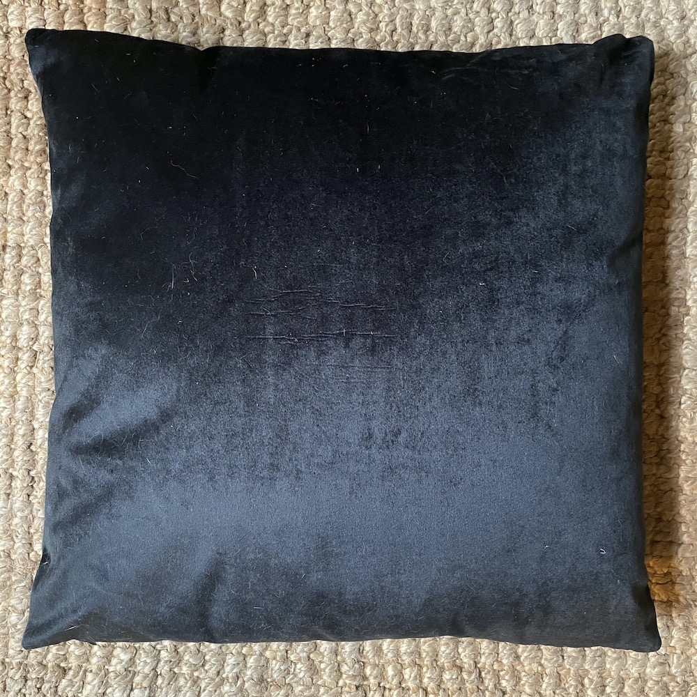cuscino caprone retro