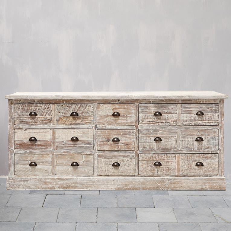 credenza atelier cassetti legno