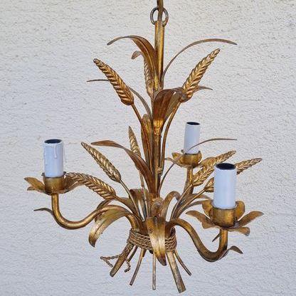 lampadario oro Cocò Chanel