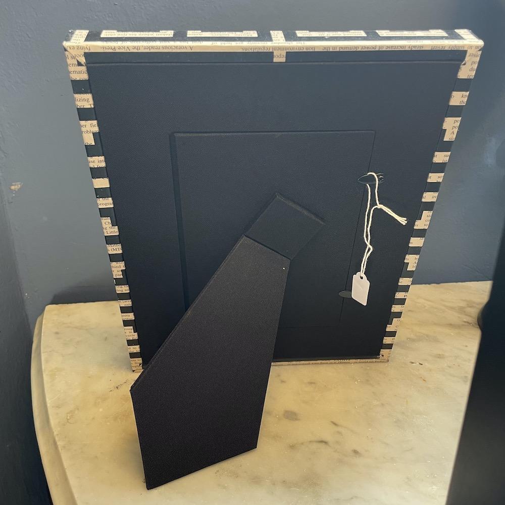 porta foto greche nere