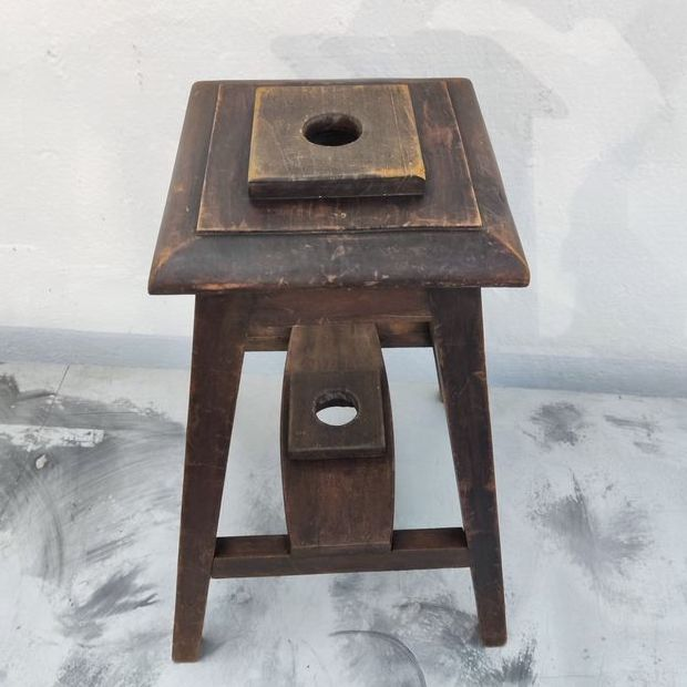 portaombrellone legno