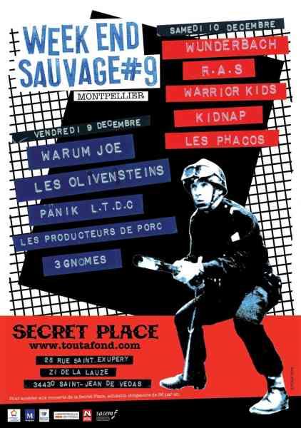 Festival Weekend Sauvage 2016