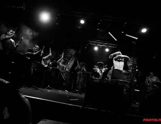 Les Tambours du Bronx Guinguettes de l'Auzon Carpentras 2015 Photolive30