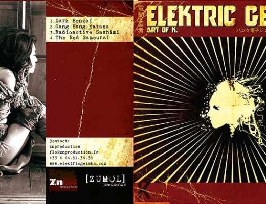 "Elektic Geïsha ""Art of K."" (2013) EP"