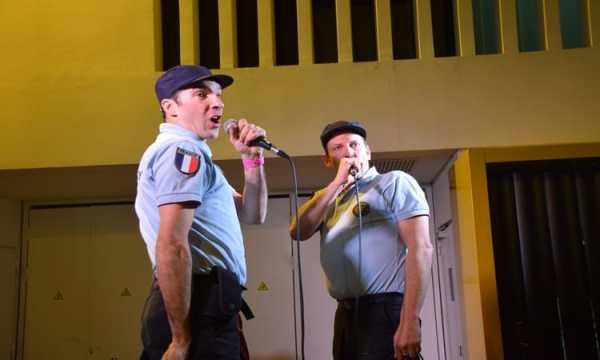 Gendarmery au Metronum de Toulouse - Pink Paradise