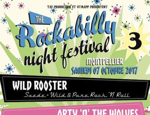 Festival rockabilly montpellier octobre 2017