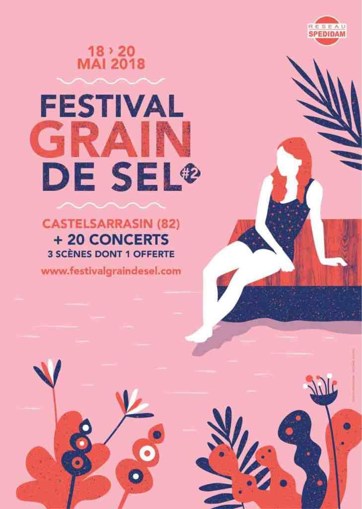 6 places à gagner pour le Festival Grain de Sel 2018