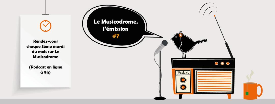 podcast musique le musicodrome février 2019 émission