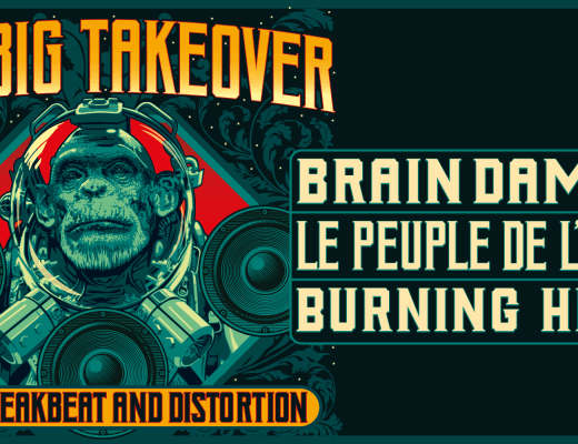 the big takeover burning heads le peuple de l'herbe brain damage