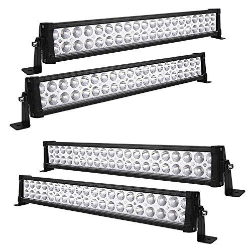 Topcarlight 50inch 288w LED Curved Work Light Bar Combo