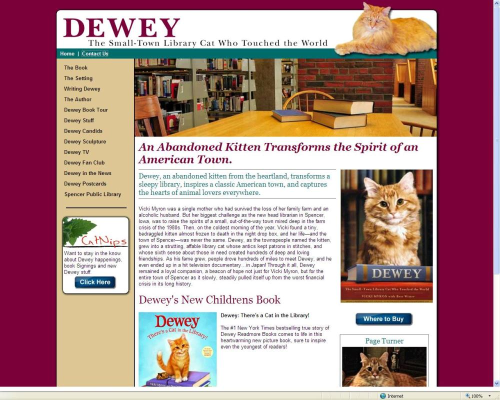 Haftnotiz 39: Dewey, die Bibliothekskatze