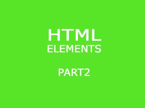 HTML Basic Elements