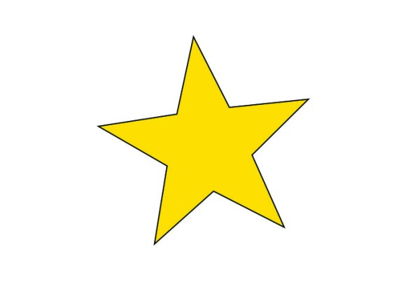 Star Shape Photoshop