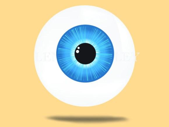CSS JavaScript Eye Animation