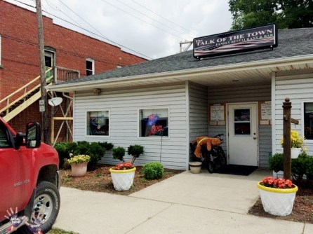 Talk of the town bar in Elkhart