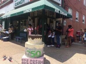 Sant Louis famous ice cream