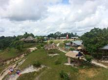 Village on Amazon river, Peru