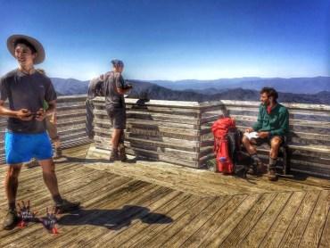 Appalachian trail thru hikers