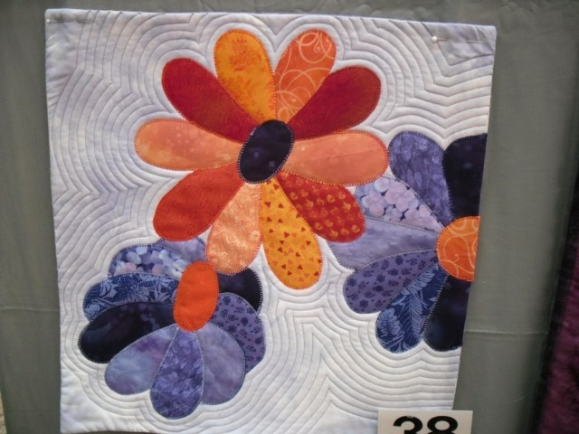 Small quilt - flowers