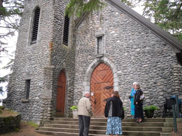 Chapel Front Door