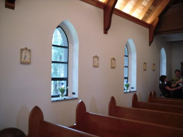 Chapel Interior -- Side Wall