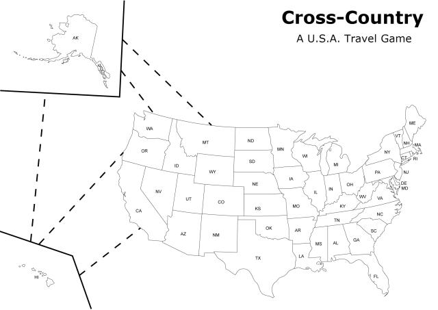 Cross-Country Board