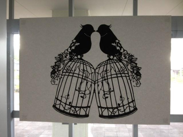 paper cutout by Mr. Genki