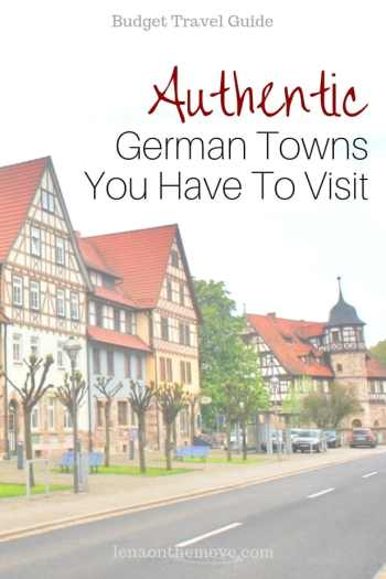 Authentic German Towns You Have To Visit
