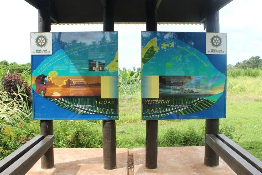 International Datumsgrenze Taveuni