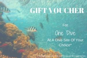 Gift Voucher Diving