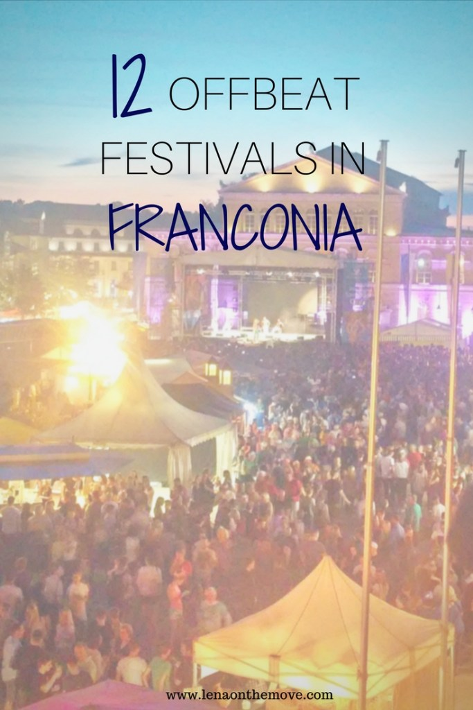 12 Local Offbeat Festivals In Franconia In 2018