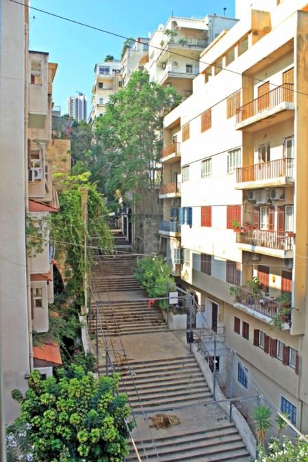 Beirut St Nicolas Stairs