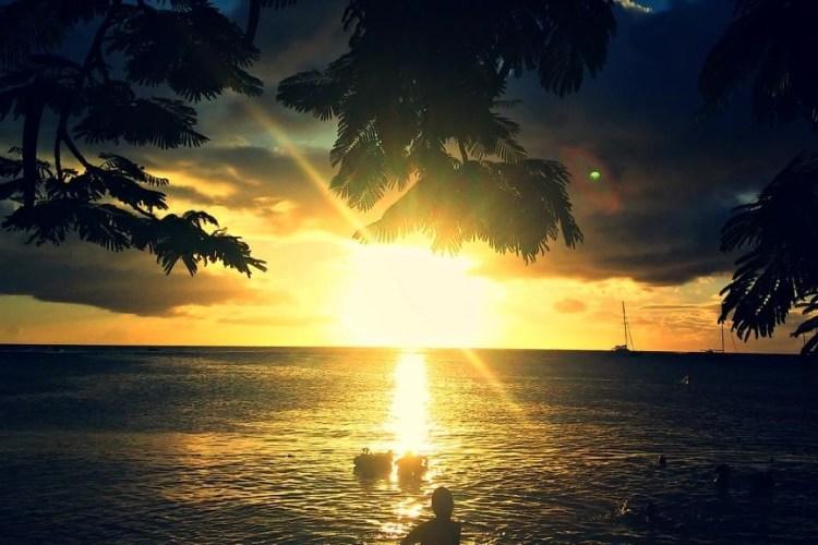 Anse a l'Ane Sunset