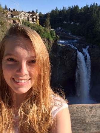 Lena and Snoqualmie Falls