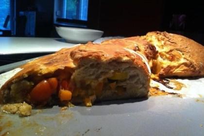 Gefülltes Brot - Tortano
