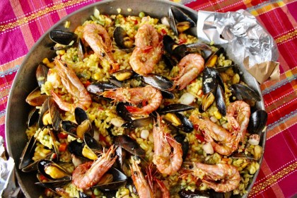 Paella spanisch