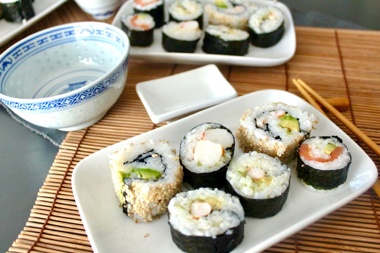 Sushi Auswahl