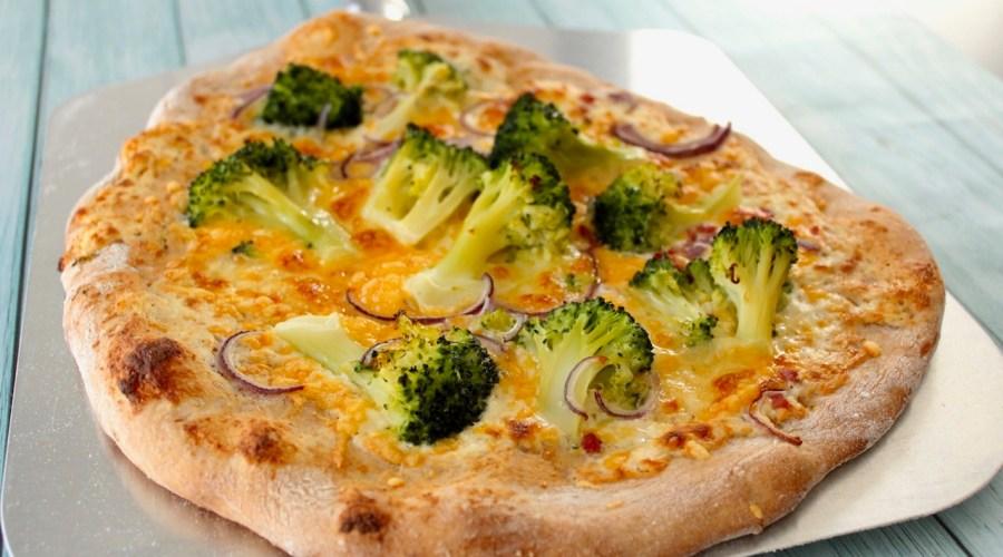 Weiße Pizza