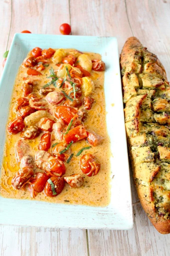 Tomaten-Creme-Pfanne
