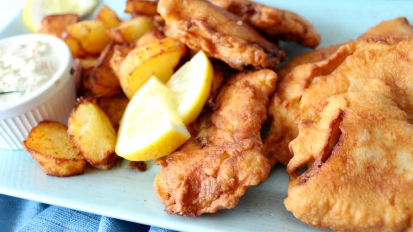 Fish im Backteig