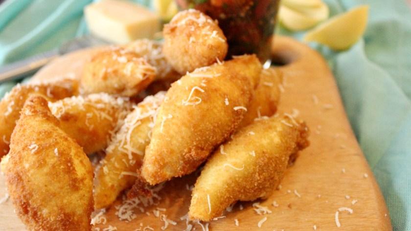 Gefüllte Nudel-Chips