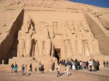 Abu Simbel in Aswan, Egypt