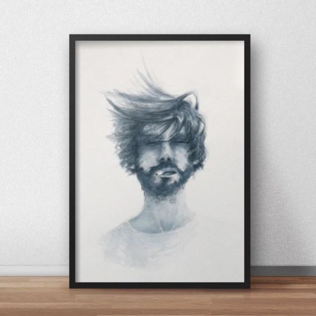 smokingguy_watercolor