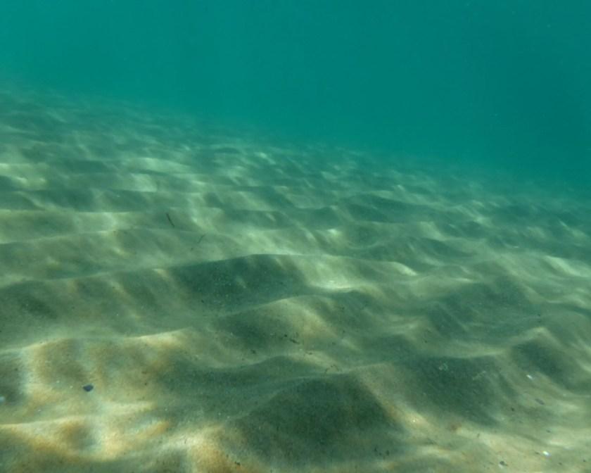 waves under waves