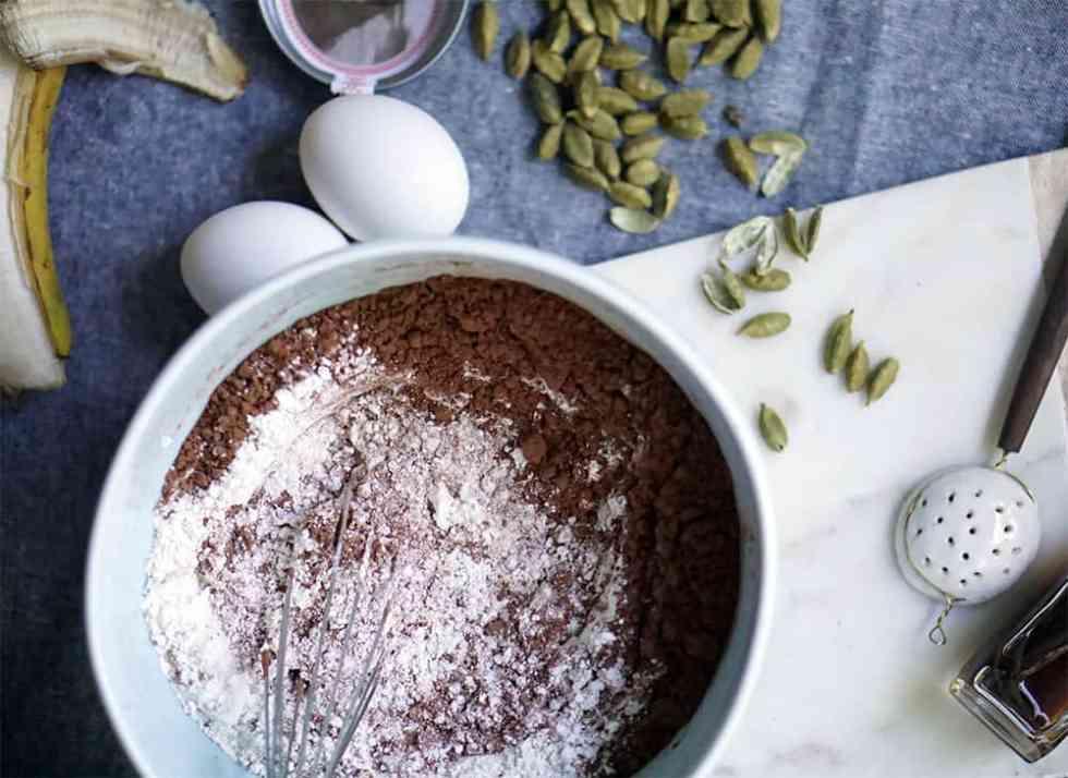 chocolate waffles_lenaskitchenblog_ingredients_dry