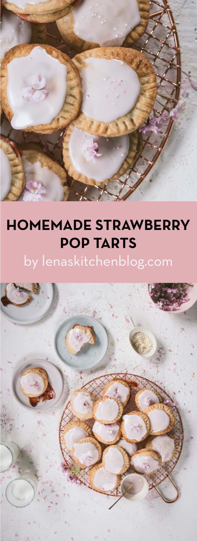 homemade strawberry pop tarts
