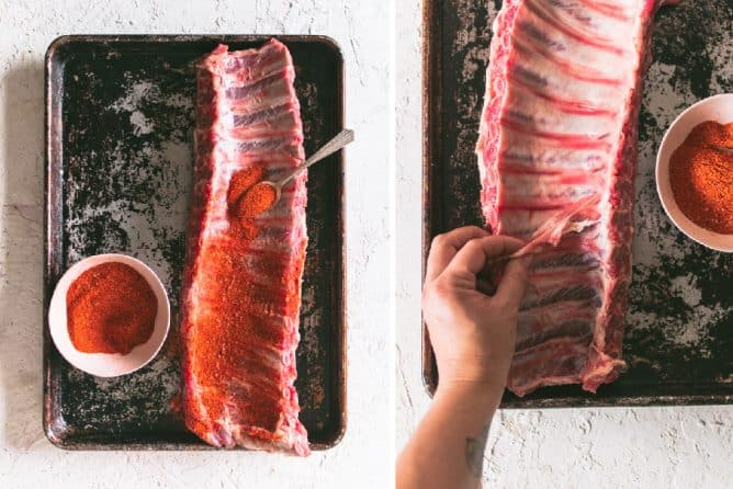 DELICIOUS INSTANT POT RIBS PREP