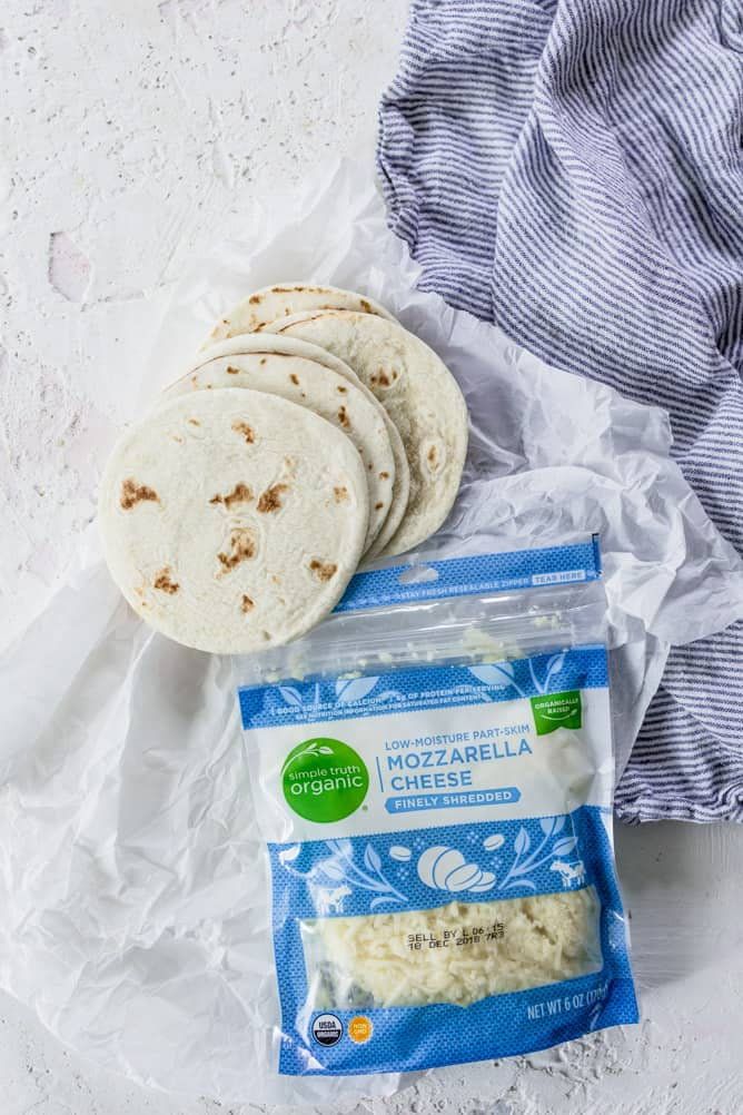 mini cheese quesadillas by lenaskitchenblog.com